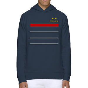 Sweat-Shirt Equipe de France deux étoiles champion du monde