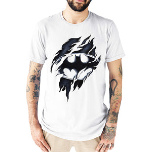 Batman ripped effects Men's T-Shirt