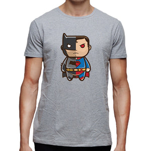 Batman vs Superman cartoon Men's T-Shirt