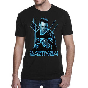 Bazinga Sheldon cooper artwork Men's T-Shirt