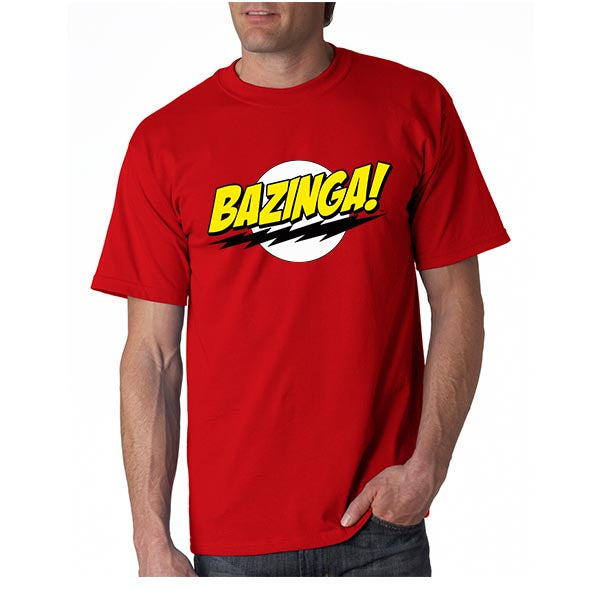 Bazinga the big bang theory Shirt