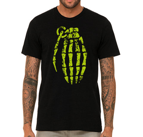 T-Shirt Homme Breaking Bad Grenade Skeleton Jesse Pinkman