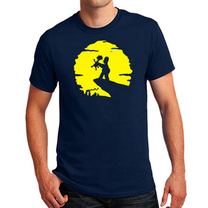 Homer and Bart the lion king parody Men's T-Shirt