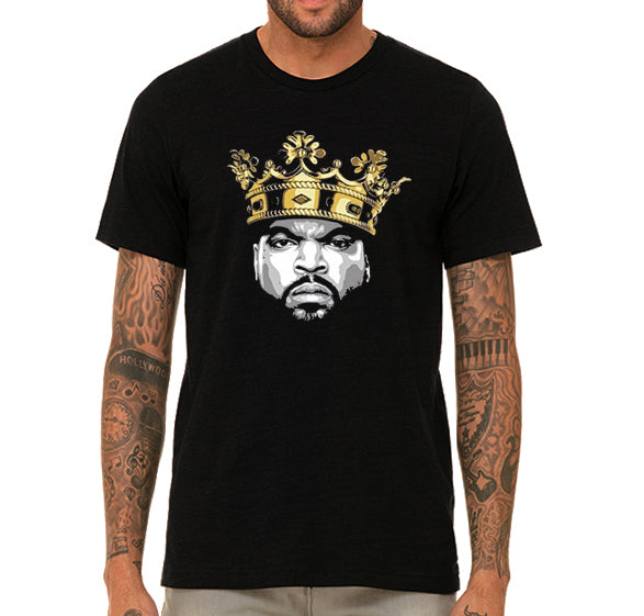 Ice Cube King of hip hop Men's T-Shirt