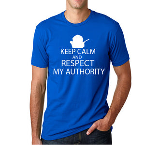 Keep Calm and respect my authority Cartman south park Men's T-Shirt