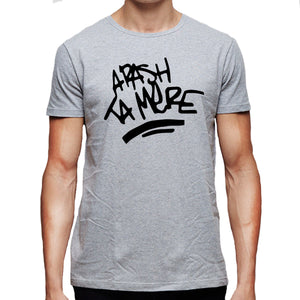 La haine Arash ta mere grafitti Men's T-Shirt