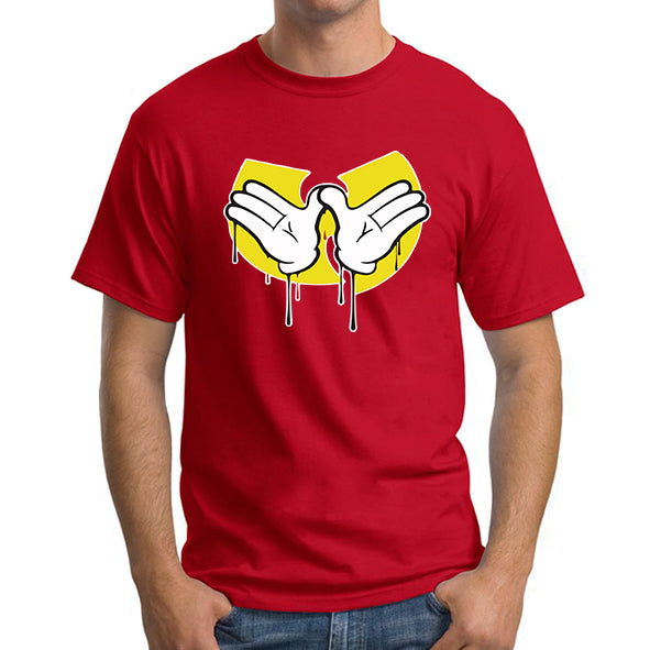 Mickey Mouse hands Wu tang signs Men's T-Shirt