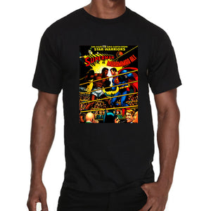 Muhammad Ali VS Superman comics style Men's T-Shirt
