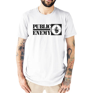 T-Shirt Homme Public enemy