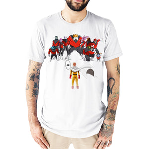 T-Shirt Homme Saitama VS dragon ball Super pride troopers