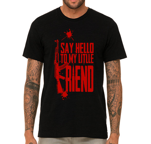Scarface Say hello to my little friend Men's T-Shirt