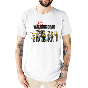 The Walking Dead Simpsons parody Men's T-Shirt.
