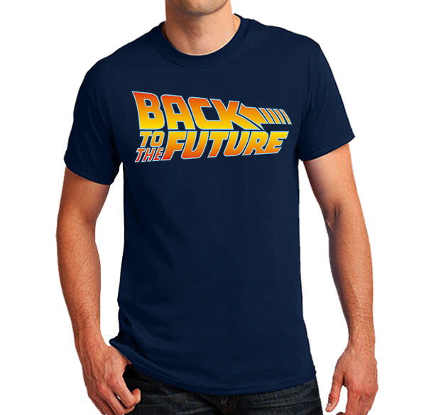 Back to the future logo Men's T-Shirt