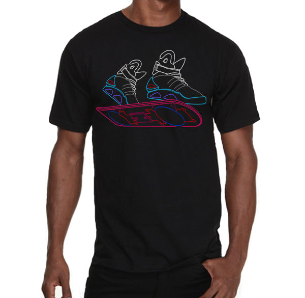 Back to the future Marty MacFly sneakers retro Men's T-Shirt