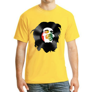 Bob Marley vinyl Men's T-Shirt