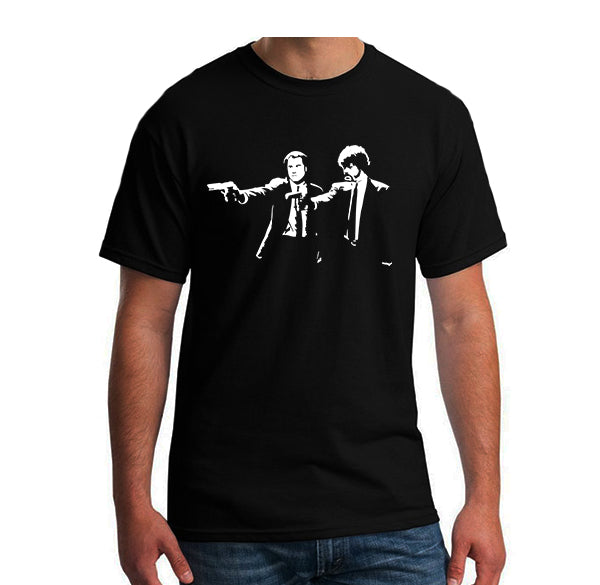 T-Shirt Homme Pulp Fiction Jules et Vincent