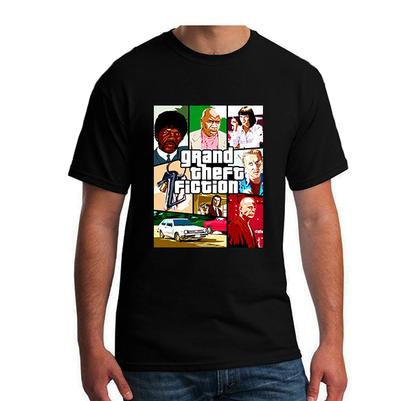 Pulp fiction GTA parody Shirt