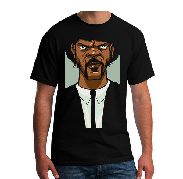 T-Shirt Homme Pulp Fiction version cartoon