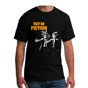 Saiyan Fiction Men's T-Shirt