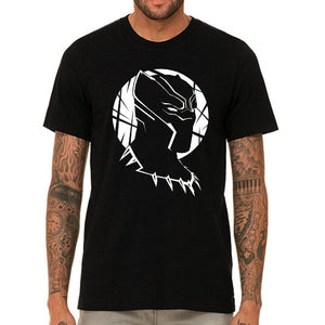 T-Shirt Homme Black Panther en portrait