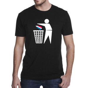 Anti FN Fuck the racism Men's T-Shirt
