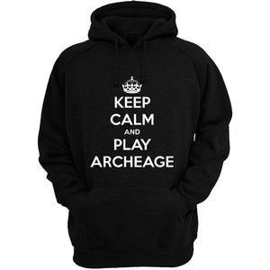 Keep calm and play Archeage Men's hoodie