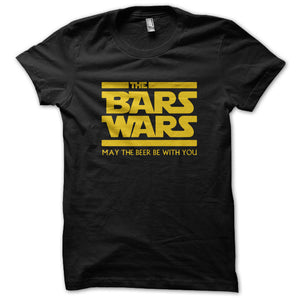 The bars wars may the beer be with you Men's T-Shirt