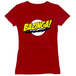 Bazinga the big bang theory Women's T-Shirt