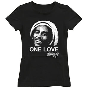Bob Marley signature one love artwork Women's T-Shirt