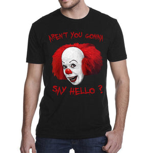 Clown Pennywise are you not gonna say hello ? Men's T-Shirt