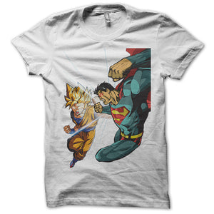 Sangoku Vs Superman T-Shirt