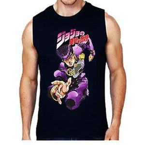 Jojo's Bizarre Adventure Part 4 Diamond is Unbreakable Sleeveless Men's T-Shirt
