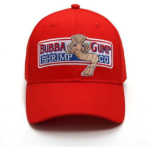Forest Gump Bubba Gump shrimp co retro snapback cap