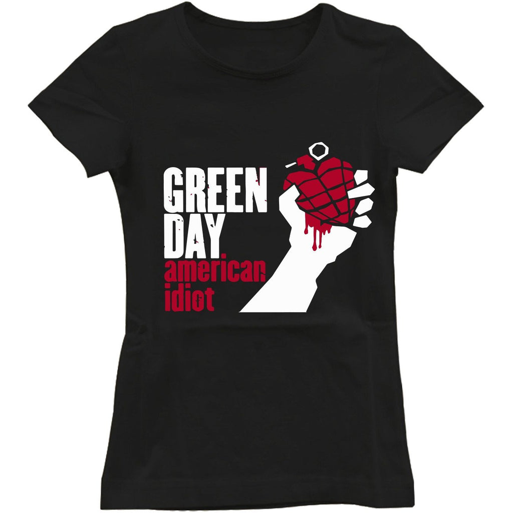 Green day american idiot Women's T-Shirt
