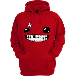 Super Meat boy funny face Hoodie