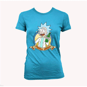 Rick and Morty Rick song wubba lubba dub dub Women's T-Shirt
