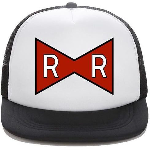 Dragon ball red ribbon logo snapback cap