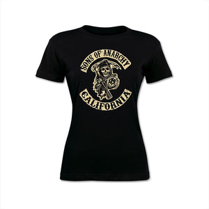 Sons Of Anarchy logo women's T-Shirt