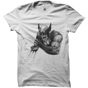 Wolverine angry Artwork  Men's T-Shirt