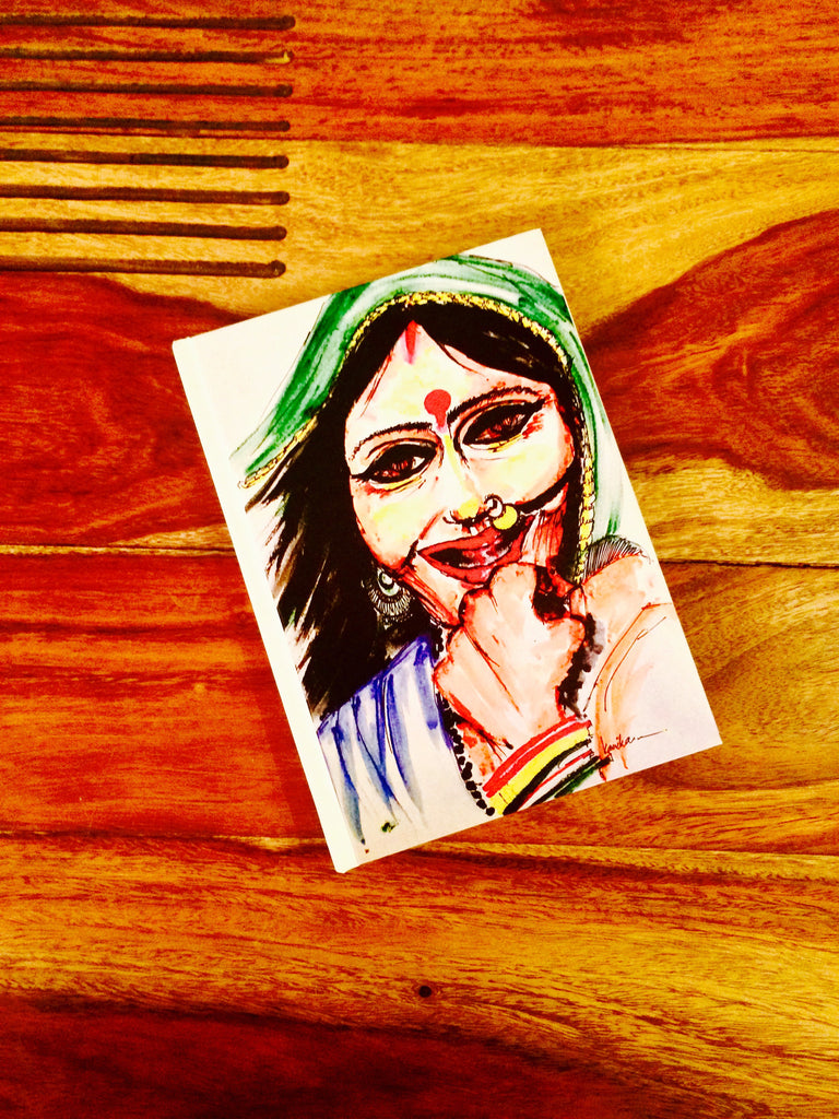 Indian Lady Notepad - 2 Sizes Available