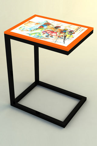 Saffron Quartet Pet Table