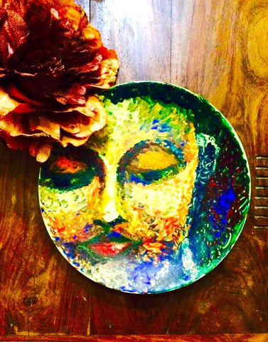 The Zen on a Plate (Original Art on Products)