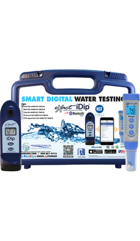eXact iDip® Pool Professional Test Kit - Smart Photometer System®
