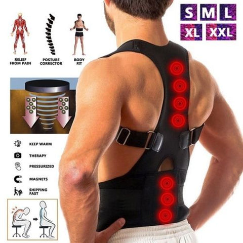 Posture Corrector Corset Magnetic Therapy