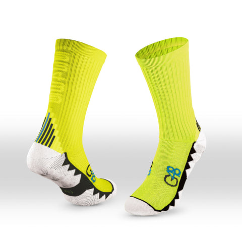 G48 GRIP SOCKS NEON YELLOW