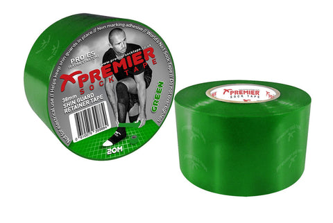 SHIN GUARD TAPE 38 MM GREEN