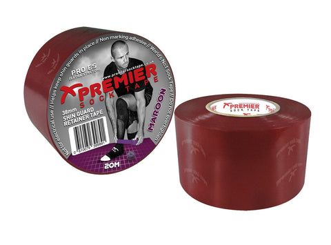 SHIN GUARD TAPE 38 MM MAROON