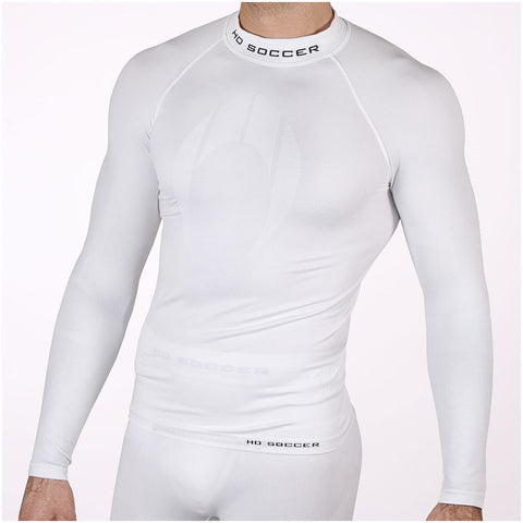 LONG SLEEVE BASE LAYER WHITE