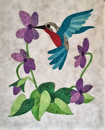 The Hummingbird in Flight Paper Pattern