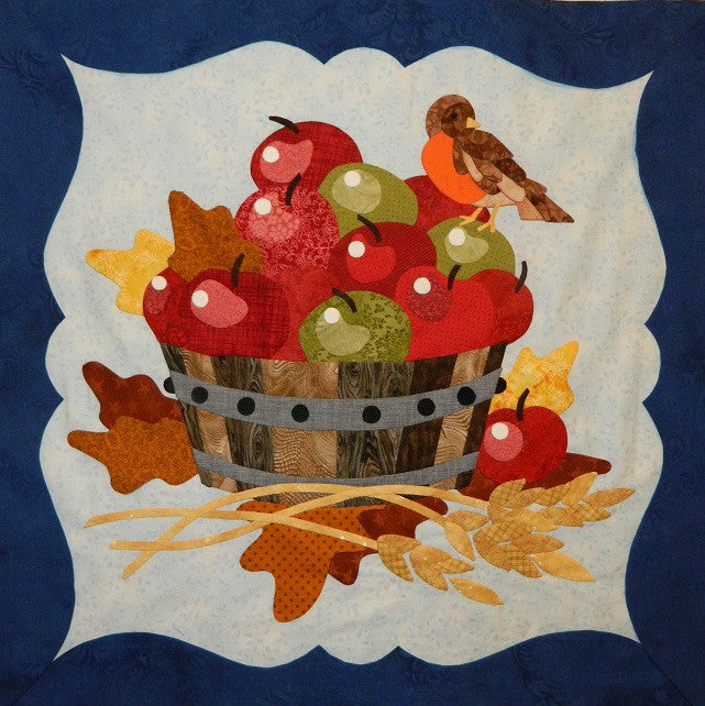 To Everything There Is A Season - October - Apple Basket Paper Pattern